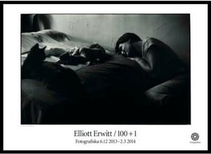 スウェーデン限定!アート写真家『エリオット・アーウィット』ポスター!現代美術芸術フォトc