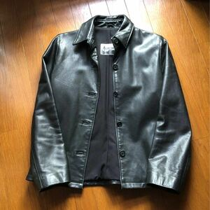 レザージャケット 革ジャン ブラック 黒 in New York