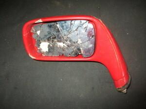 ■フェラーリ F40 純正 ドアミラー 左 中古 レンズ破損 62470600 Ferrari door mirror rear view ■