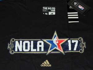 【新品】NBA オールスター ゲーム ALL STAR GAME Tシャツ(L)アディダス・2017・ニューオーリンズ