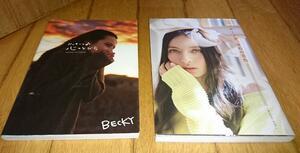 フォトブック2冊 ●フォトブック・ ベッキーの心のとびら●ベッキー♪♯ 初のコンプリートブック発売! ・ゆめの音色 ~music life~(DVD付)