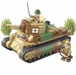 LEGO互換 八九式中戦車 日本軍 【欠品保証風】
