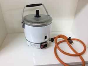 □ジャンク パロマ ガス炊飯器(都市ガス用) PR-1号K 製造年踏不明 Э□