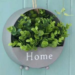 壁掛けできる☆オシャレな多肉植物プランター♪花 ガーデニング 観葉植物 インテリア 小物 装飾 花瓶 植木鉢 フラワーポット グレー
