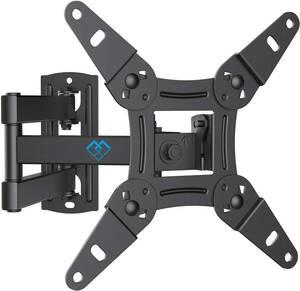 PERLESMITH テレビ壁掛け金具 ディスプレイアーム 軽量 13~42型対応 耐荷重20kg 上下・左右・前後調節可能 最大VESA200*200mm ネジ類付