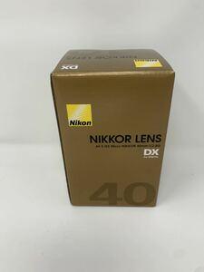 Nikon 単焦点マイクロレンズ AF-S DX Micro NIKKOR 40mm f/2.8G