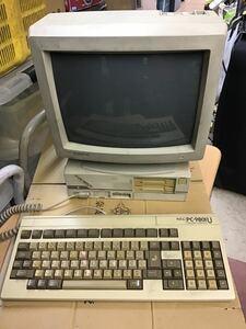 ★☆【中古】NEC PC-9801UV11 本体 + キーボード + モニター PC-KD854N ☆★