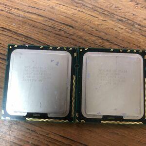 Intel Xeon E5620 2.40GHz 12M / 5.86 / 2個セット