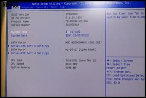 NEC Mate MA-V PC-MY29RAZ7V Core i3-3240 3.4GHz メモリ4GB HDD250GB DVD-ROM  Windows10 Pro 64bit 認証済