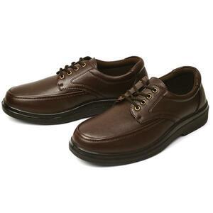 新品■24.5cm ウォーキング 紳士靴 ビジネスシューズ メンズ 幅広 3EEE ゆったり 紳士靴 カジュアル コンフォート 男 靴