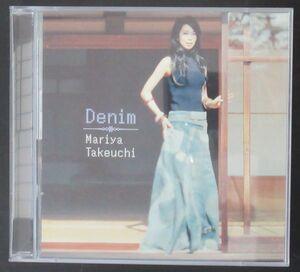 和モノ CD/初回限定2CD/国内盤/帯・ライナー付き美盤/竹内まりや/DENIM/S-3690