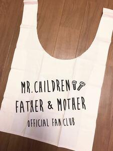 Mr.Children ファンクラブ22年目継続特典 マルシェバッグ エコバッグ トートバッグ ミスチル ミスターチルドレン 非売品