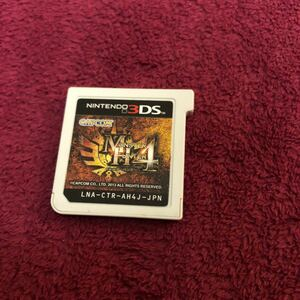 【匿名発送】「モンスターハンター4」カプコン ニンテンドー 3DS NINTENDO 3DSソフト