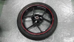 ニンジャ Ninja 250R EX250K の フロントホイール タイヤ付 *1607479000 中古