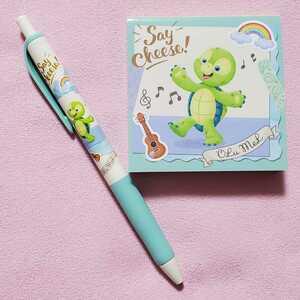 オルメル☆ボールペン&メモセット☆セイチーズ!☆ダッフィー&フレンズ