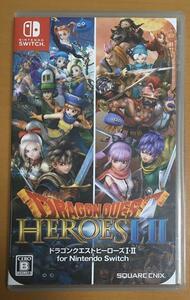 送料無料 ドラゴンクエストヒーローズ I・II for Nintendo Switch Dragon Quest HEROES 1・2 スイッチ ドラクエ DQH 動作確認済 即決