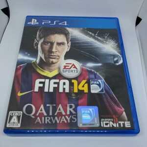 【処分】PS4 プレステ4  FIFA14 エレクトロニックアーツ サッカーゲーム メッシ リーガ プレミア ブンデス PS4ソフト ジャンク