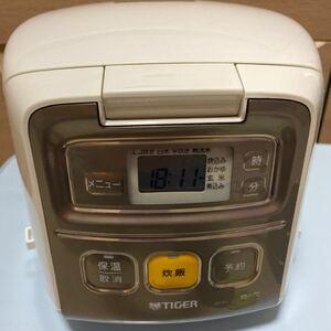 タイガーマイコン炊飯ジャー JAI-R1 3合 19年製
