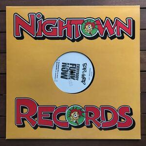 ●【eu-rap】Flip Da Scrip / Everybody Funk Now (The Remixes)[12inch]オリジナル盤《1-4》promo nightown レーベル