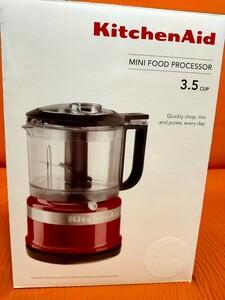KitchenAidキッチンエイド ミニ  フードプロセッサー 3.5カップ 白
