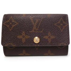 ルイ・ヴィトン Louis Vuitton キーケース M62630 モノグラム ミュルティクレ6 中古 グレード:AB サンヤ質店
