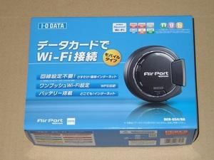 I-O DATA DCR-G54/BA(3G/CDMA/WiMAX対応モバイルルーター)