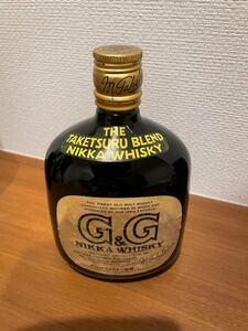 ウィスキー G&G 760ml アルコール度数43% 古酒 未開封