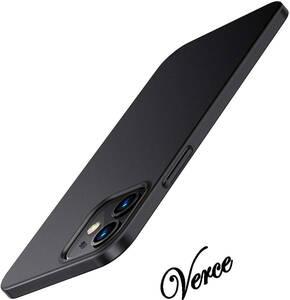 TORRAS iPhone 12 / iPhone 12 Pro 用ケース 6.1インチ 薄型 マット質感 ガラスフィルム付属 さらさら肌触り ブラック Wisdom Series