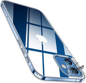 TORRAS iPhone 12 / iPhone 12 Pro 用ケース 6.1インチ 全透明 TPU カバー 薄型 軽量 耐衝撃 ソフト クリスタル クリア Shiny Series