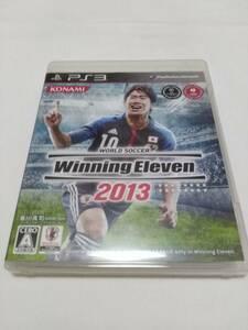 PS3 ワールドサッカー ウイニングイレブン 2013 動作確認済