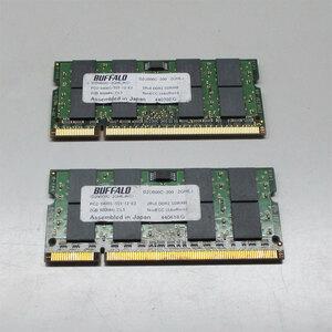 бесплатная доставка *BUFFALO D2U800C-200-2GHEJ PC2-6400(DDR2-800MHz) 2 шт. комплект 4GB#HEJ