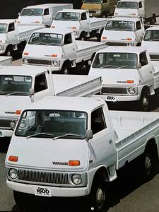 トヨタ トヨエース ガソリン ディーゼル トラック バン 特装車 1970年代 当時物カタログ!☆ TOYOTA TOYOACE RY12 JY16 絶版 旧車カタログ