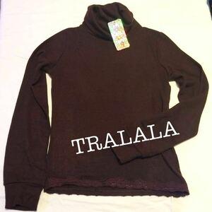【送料込み!】TRALALA トゥララ タートルネック セーター