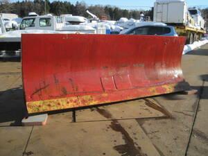 WA300-1用 排土板 除雪 スノープラウ 排雪板 除雪ブレード ホイールローダ― コマツ
