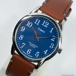 質イコー [タイメックス] TIMEX 腕時計 2R36000 イージーリーダー 40th ホーウィンレザー クオーツ メンズ 未使用品 正規品