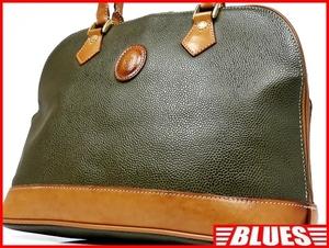 即決★BELLE★レザーコンビハンドバッグ ベル メンズ 緑 カーキ 本革 トートバッグ 本皮 かばん 鞄 レディース 手提げかばん 手提げバッグ