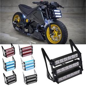90ワットオートバイledヘッドライト防水8000 18kフロントフォークライトランプホンダgrom 125 MSX125 2013-2016ドゥカティ毒X12RS 125