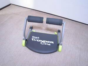 ショップジャパン WONDER Core Smart ワンダーコアスマート 腹筋 エクササイズ グリーン 箱付き DVD付き トレーニング器具 [gik