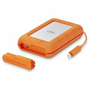 LACIElasi-STFS4000800 Rugged Thunderbolt USB-C/4TB [ portable HDD] unused goods { free shipping }