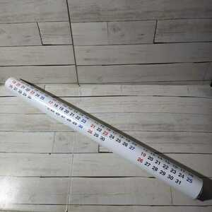 「山中湖赤富士 2021 カレンダー」山梨信用金庫 赤富士 サイズ縦約72.5cm×横約51.5cm