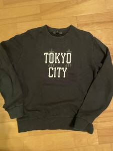 SOPHNET.×Fragment Design TOKYO SOPH.TOKYO15周年記念 ソフネット×フラグメントデザインCREW NECK SWEAT 藤原ヒロシ