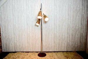 ビンテージ 60-70's 3灯フロアランプ 照明 ライト インテリア アンティーク 店舗ディスプレイ ヴィンテージ