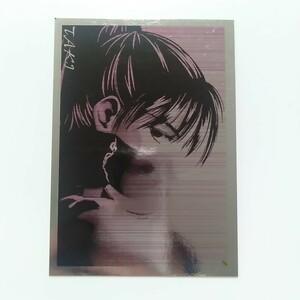 送料無料 SOULCALIBUR ソウルキャリバー トレーディングカード TAKI No.14 F Special Monochrome Card 5/18 キラ メタル