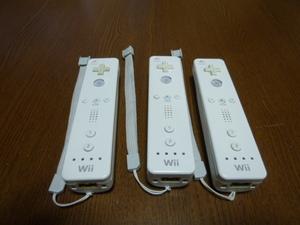 RS033【送料無料 即日配送 動作確認済】Wii リモコン ストラップ 3個セット ホワイト 白 セット