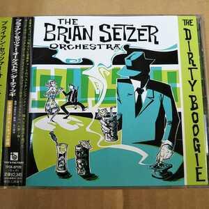 中古CD THE BRIAN SETZER ORCHESTRA / ブライアン・セッツァー『The Dirty Boogie』国内盤/帯有り TFCK-87170【1389】