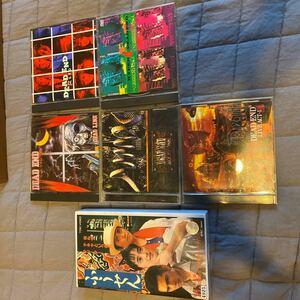 【値下げ】 CD5枚+お宝ビデオ1本 ★超貴重★ ジャパニーズヘビーメタルの雄 DEADEND デッドエンドは唯一無二のバンドでした!