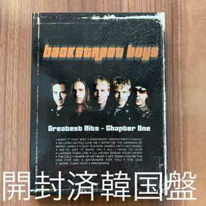 Backstreet Boys バックストリート・ボーイズ Greatest Hits - Chapter One グレイテスト・ヒッツ-チャプター・ワン 韓国盤