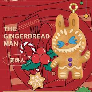 LABUBU CHRISTMAS ラブブ クリスマス blindbox ブラインドボックス ☆シークレット☆ ジンジャーブレッドマン クッキー POP MART 限定 レア