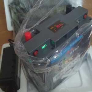 リチュウムバッテリー 60A 12v 特別仕様 10A専用充電器、リュクサック付き、日本から発送!