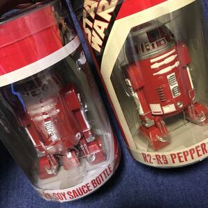 New Unused R2-D2 Pepper Soy Sauce Rare Salute Salt And Pepper
